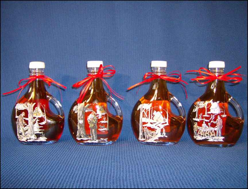 Product information for Maine made maple syrup, maple butter